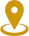 Zug-Umzug Standort Icon